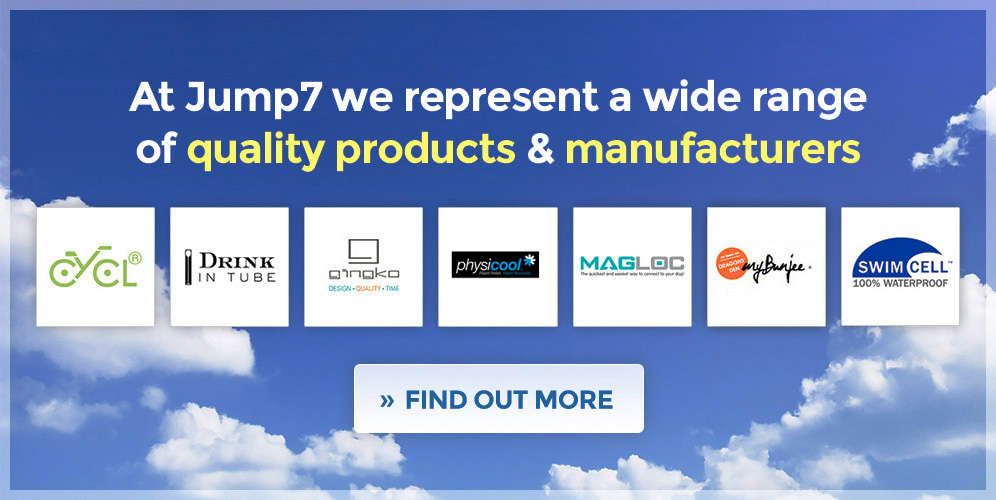 At Jump7 we represent a wide range  of quality products & manufacturers